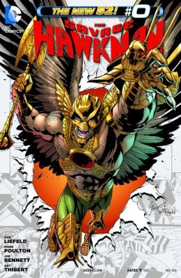 The Savage Hawkman (2012-) #0 (NOOK Comic with Zoom View)