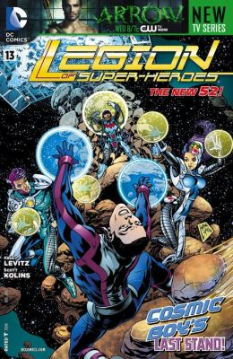 Legion of Super-Heroes #13 (2011- ) (NOOK Comics with Zoom View)