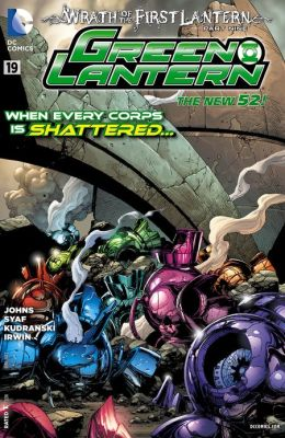 Green Lantern #19 (2011- ) (NOOK Comics with Zoom View)