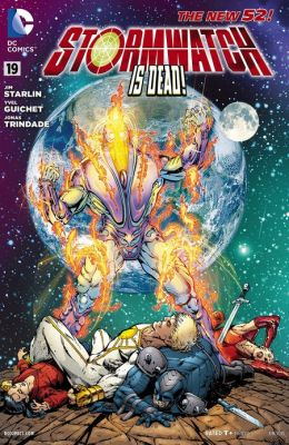 Stormwatch #19 (2011- ) (NOOK Comics with Zoom View)