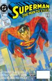 Book Cover Image. Title: Superman:  The Man of Steel #1 (1991-2003) (NOOK Comics with Zoom View), Author: Louise Simonson