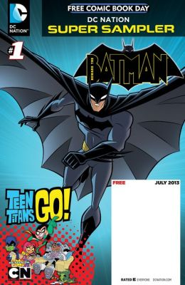 DC Nation FCBD Beware the Batman/Teen Titans Go! #1 (NOOK Comics with Zoom View)