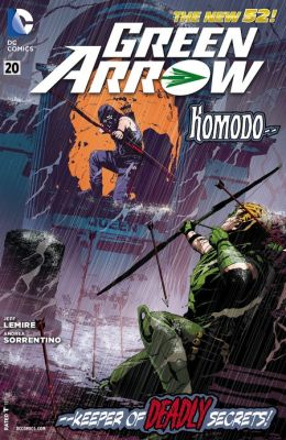 Green Arrow #20 (2011- ) (NOOK Comics with Zoom View)