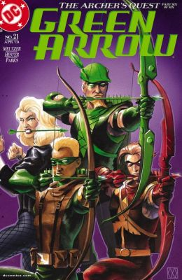 Green Arrow #21 (2001-2007) (NOOK Comic with Zoom View)