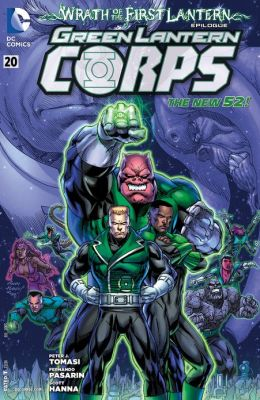 Green Lantern Corps #20 (2011- ) (NOOK Comics with Zoom View)