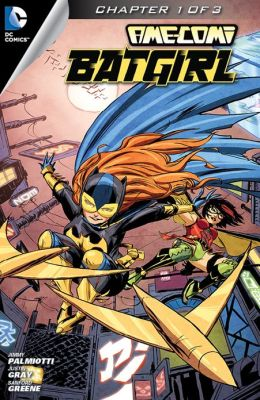Ame-Comi II: Batgirl #1 (NOOK Comics with Zoom View)