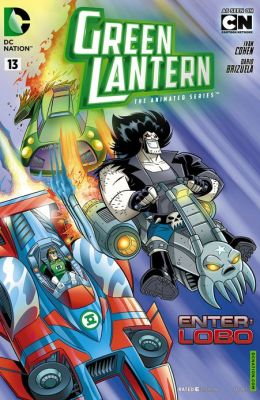Green Lantern: The Animated Series #13 (NOOK Comics with Zoom View)