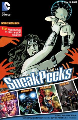 DC Comics Digital Sneak Peeks 5/15/13