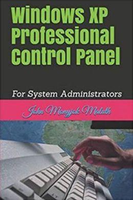 Windows XP Professional Control Panel