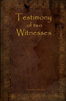 Testimony of Two Witnesses