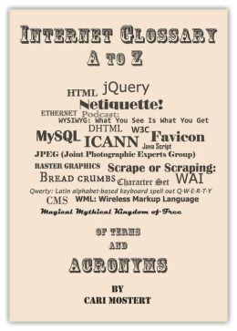 Internet Glossary A to Z of Terms and Acronyms