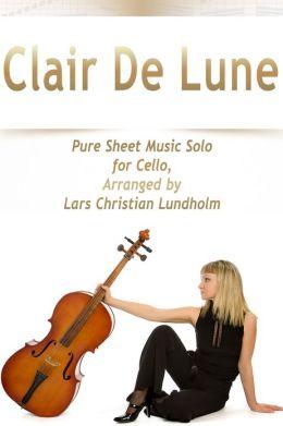 clair de lune cello pdf