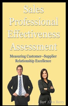 Sales Professional Effectiveness Assessment
