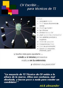 CV Escribir Para Técnicos de TI