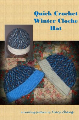 Quick Crochet Winter Cloche Hat