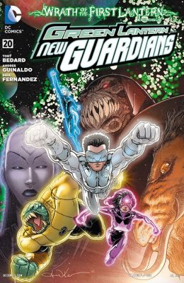 Green Lantern: New Guardians #20 (2011- ) (NOOK Comic with Zoom View)