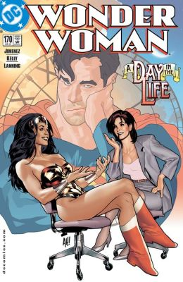 Wonder Woman #170 (1987-2006) (NOOK Comic with Zoom View)