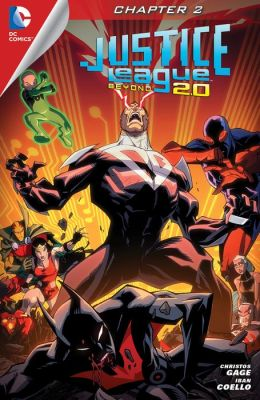 Justice League Beyond 2.0 #2 (2013- ) (NOOK Comic with Zoom View)