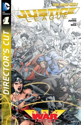 Justice League: Trinity War Director's Cut #1 (NOOK Comic with Zoom View)