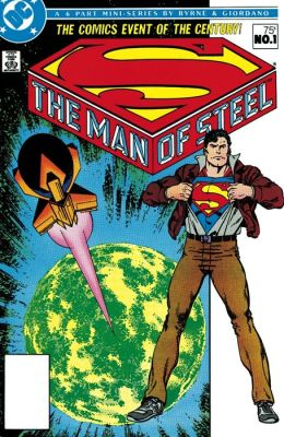 The Man of Steel #1 (NOOK Comic with Zoom View)