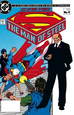 The Man of Steel #4 (NOOK Comic with Zoom View)
