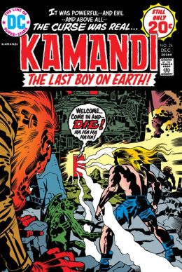 Kamandi: The Last Boy on Earth #24 (1971-1978) (NOOK Comic with Zoom View)