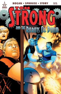 Tom Strong and the Robots of Doom #5 (NOOK Comic with Zoom View)