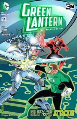 Green Lantern: The Animated Series #14 (NOOK Comic with Zoom View)