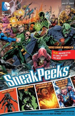 DC Comics Digital Sneak Peeks 7/17/13