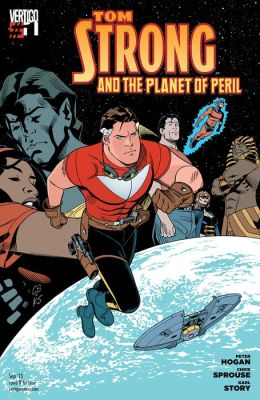 Tom Strong and the Planet of Peril #1 (NOOK Comic with Zoom View)