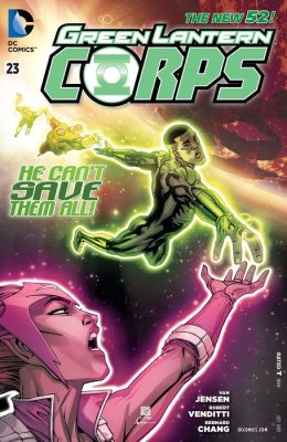 Green Lantern Corps #23 (2011- ) (NOOK Comic with Zoom View)
