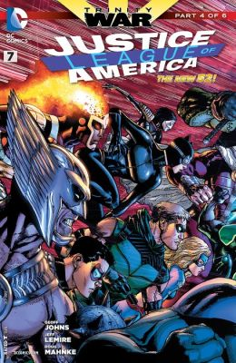 Justice League of America #7 (2013- ) (NOOK Comic with Zoom View)