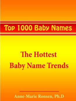 Top 1000 Baby Names: The Hottest Baby Name Trends