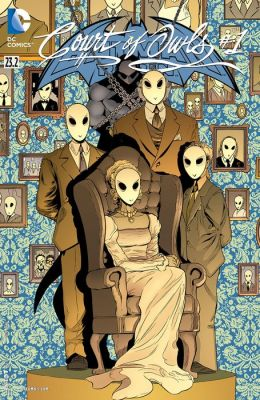 Batman and Robin (2011- ) Featuring Court of Owls #23.2 (NOOK Comic with Zoom View)
