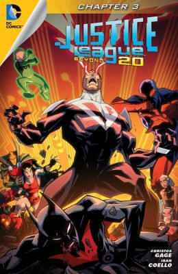 Justice League Beyond 2.0 (2013- ) #3 (NOOK Comic with Zoom View)