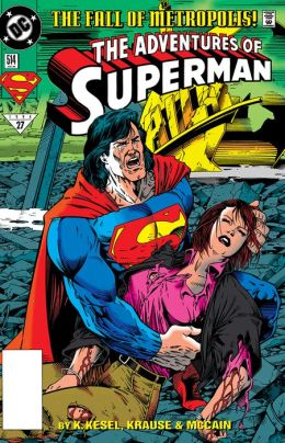 Adventures of Superman (1986-2006) #514 (NOOK Comic with Zoom View)
