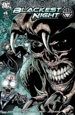 Blackest Night #4 (NOOK Comic with Zoom View)