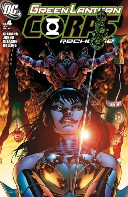 Green Lantern Corps: Recharge #4 (NOOK Comic with Zoom View)
