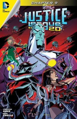 Justice League Beyond 2.0 (2013- ) #9 (NOOK Comic with Zoom View)