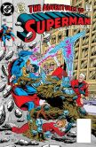 Book Cover Image. Title: Adventures of Superman (1986-2006) #466 (NOOK Comic with Zoom View), Author: Dan Jurgens