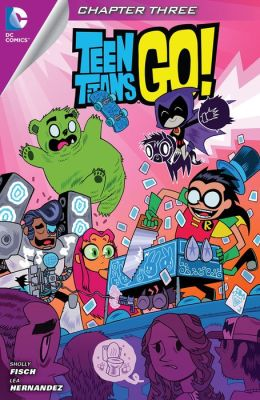 Teen Titans Go! (2014- ) #3 (NOOK Comic with Zoom View)
