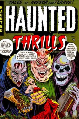 Haunted Thrills, Number 11, Blood in the Sky (NOOK Comic with Zoom View): Digitally Remastered