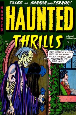 Haunted Thrills, Number 3, Nightmare Mansion (NOOK Comic with Zoom View): Digitally Remastered