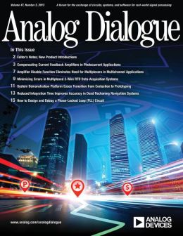 Analog Dialogue, Volume 47, Number 3