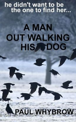 A Man Out Walking His Dog