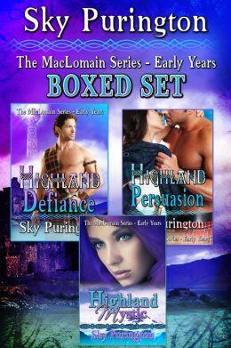 The MacLomain Series- Early Years Boxed Set (Books 1-3)