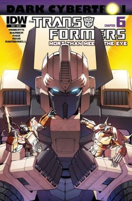 Transformers: More Than Meets the Eye #25 - Dark Cybertron Part 6
