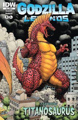 Godzilla: Legends #3