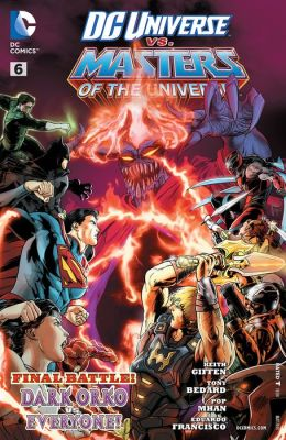 DC Universe vs The Masters of the Universe (2013) #6 (NOOK Comic with Zoom View)
