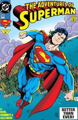 Adventures of Superman (1986-2006) #505 (NOOK Comic with Zoom View)